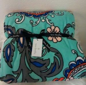 Blanket throw Vera Bradley Fan Flowers